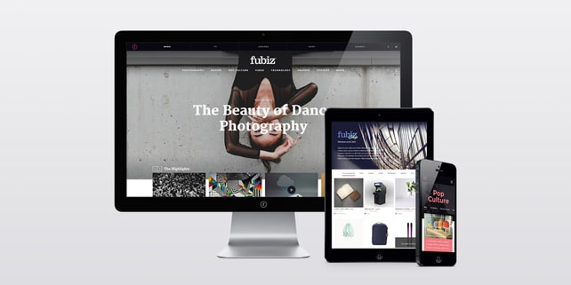 Fubiz Media 10th anniversary and new website design