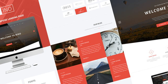 Bino – multipurpose PSD template