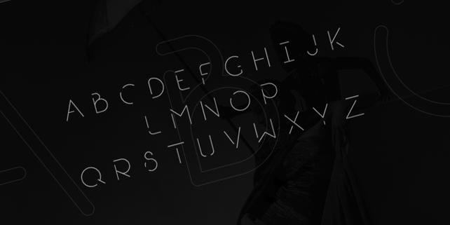break-modern-free-font