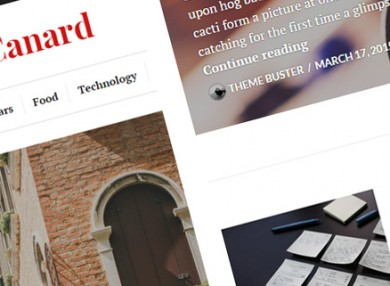 canard-versatile-wordpress-theme