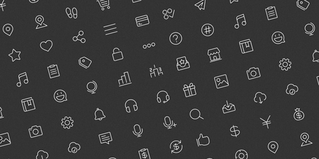 49 clean line icons