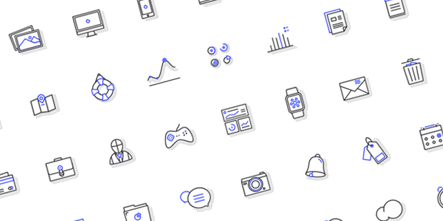 Fblu icon set (40 items)