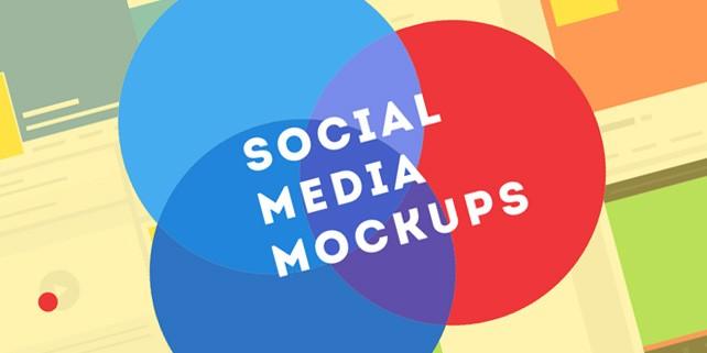 flat-social-media-mockups