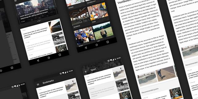 mobile-news-reader-ui-kit