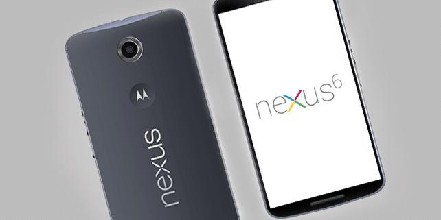 Nexus 6 realistic mockup