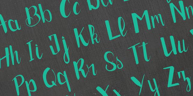 brush-hand-drawn-typeface