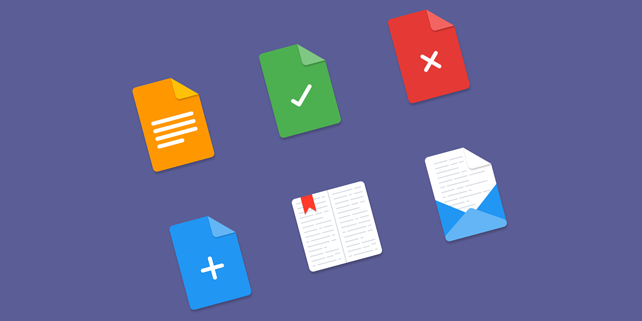 files material icons