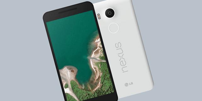 Nexus 5X vector mockup