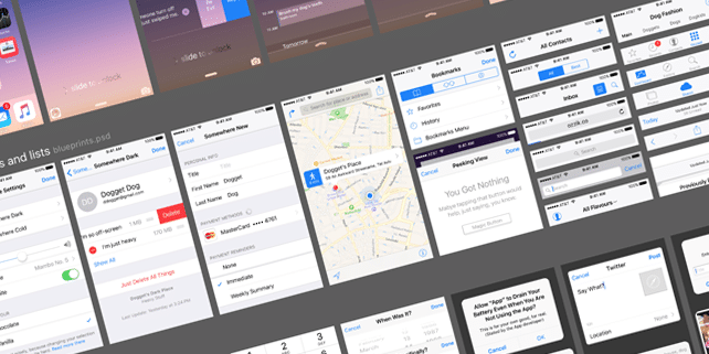 The ultimate iOS 9 UI kit