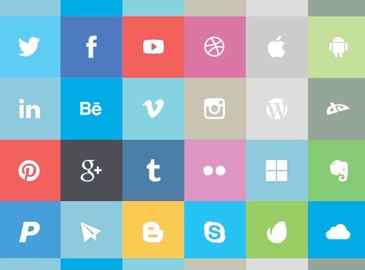 24_free_flat_social_icons