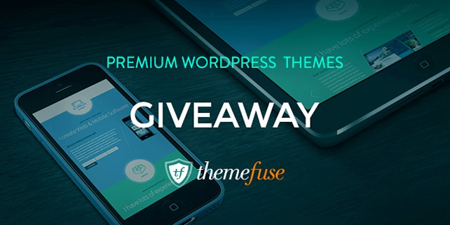 Giveaway: win 1 of 3 lovely WordPress themes by ThemeFuse
