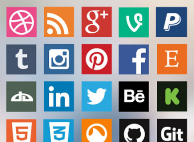Social icon sets