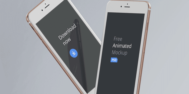 Animated iPhone 6 mockups
