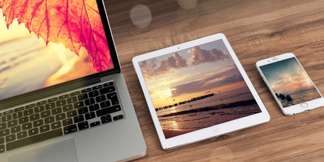 Apple devices realistic mockups