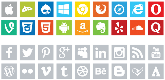 13 Best Social Media Icon Sets For Your Blog Or Website Designhooks