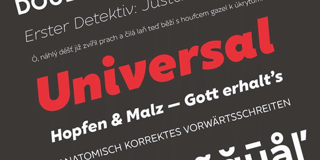 XXII Geom – modern, geometric font