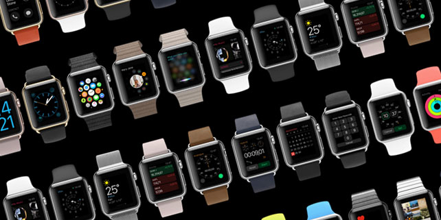 Apple Watch OS 2 massive UI kit