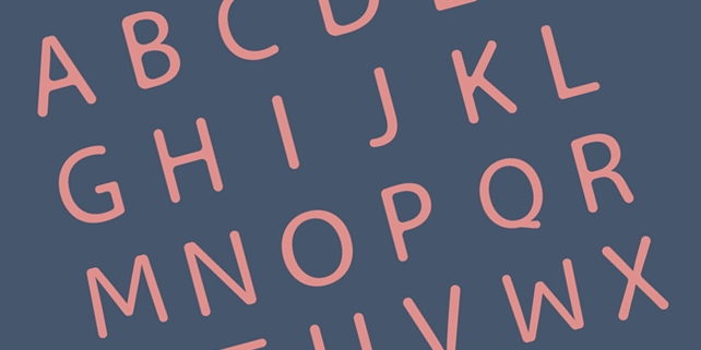 liquide-smooth-rounded-font