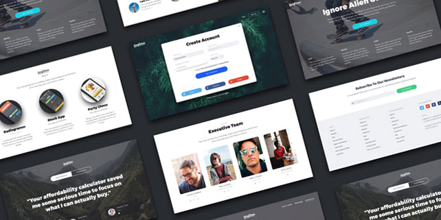 Singleton – fresh, stylish UI kit