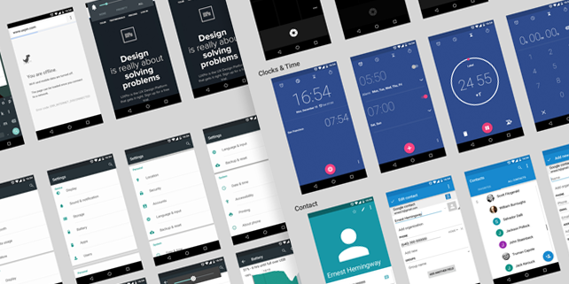 android-lollipop-mobile-ui-kit