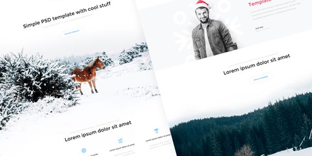 Crios – clean, modern PSD template