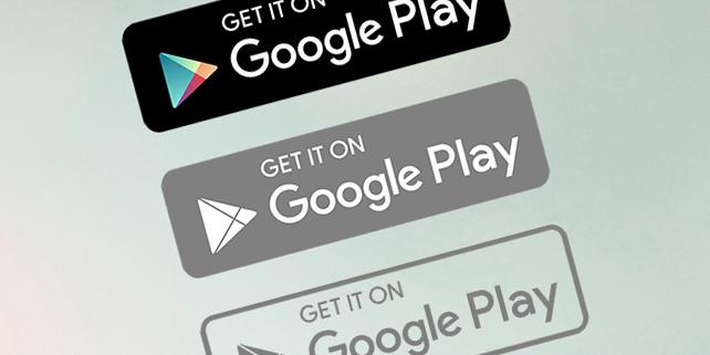 Freebie | Google Play vector logo | DesignHooks