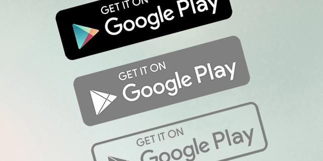 Google Play vector logo - DesignHooks