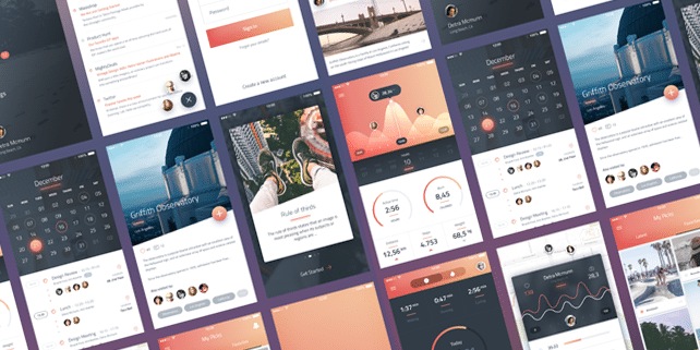 Phoenix – beautiful iOS UI kit