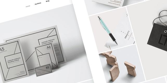 Urku – minimalist portfolio HTML template