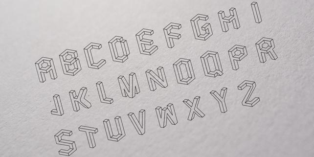 volume-vector-abecedary-free-font