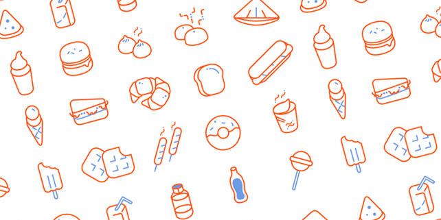 20 food vector icons
