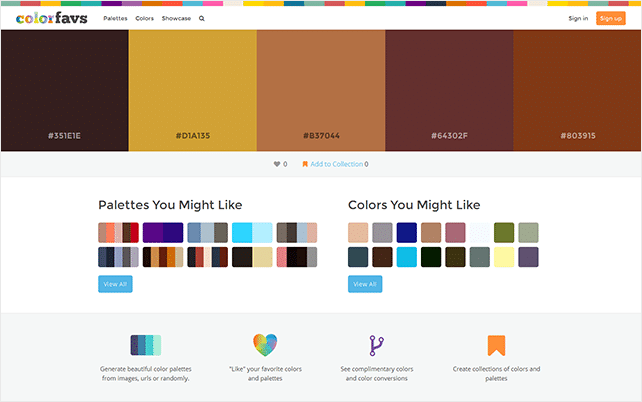 best design websites - colorfavs