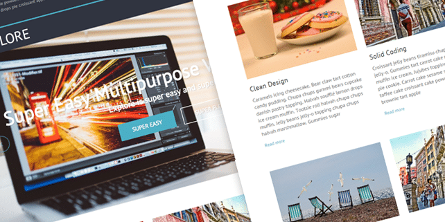 Explore – modern blog WordPress theme
