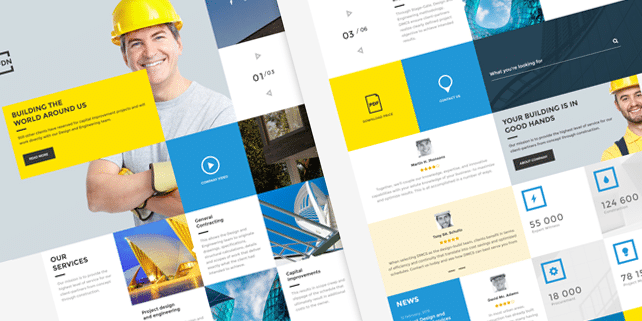 foundation-fdn-construction-psd-template