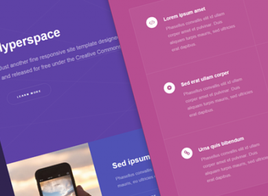 hyperspace-simple-html-template