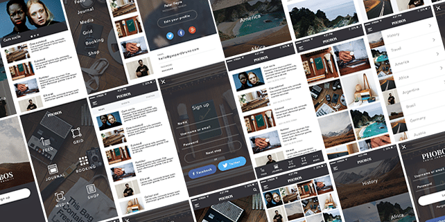 Open – mobile UI kit (150+ iOS screens)
