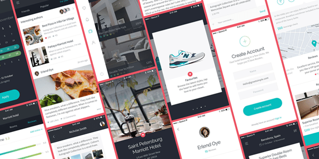 Routes – clean iOS UI kit