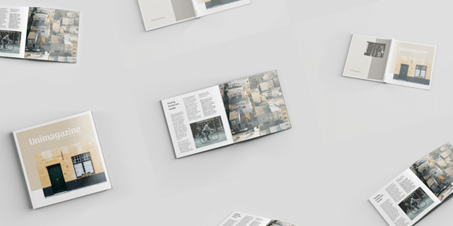 Square – sharp magazine mockup