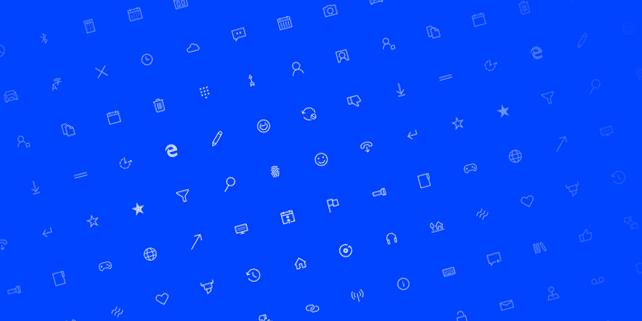 250+ Windows 10 vector icons