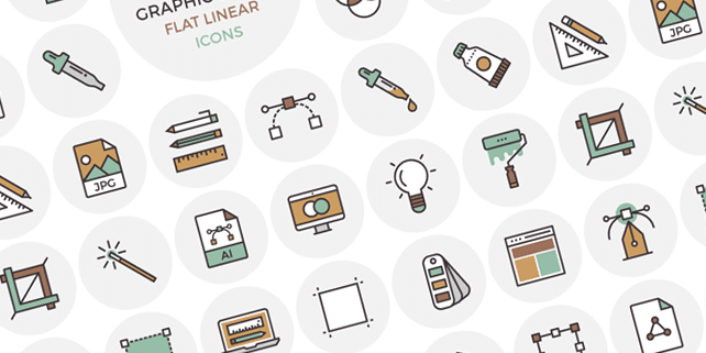 33 unique vector outline icons