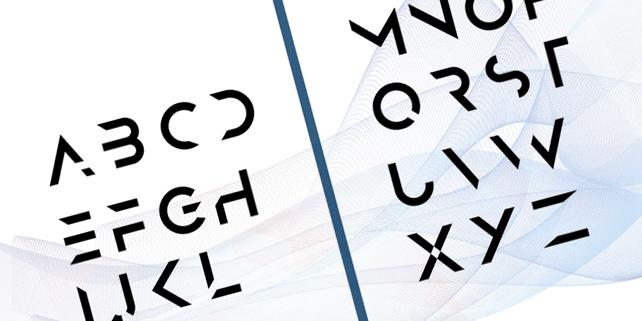 Anurati – creative, futuristic font