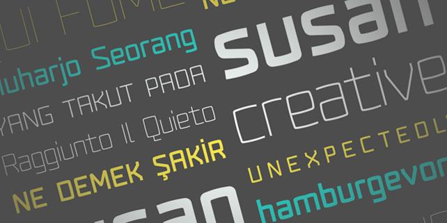Fenton - rounded, modern font - DesignHooks