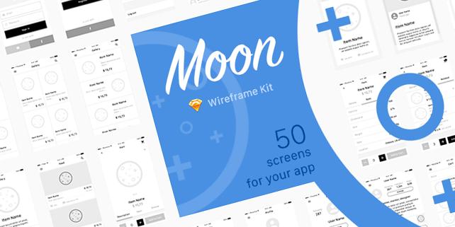 moon-mobile-wireframe-ui-kit