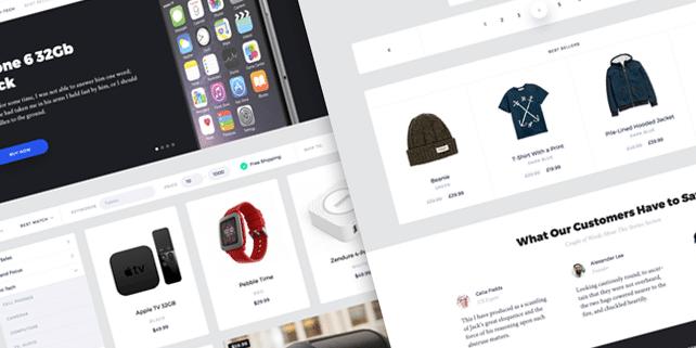 Portland – elegant UI kit