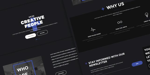 Ten+ creative HTML theme for agencies