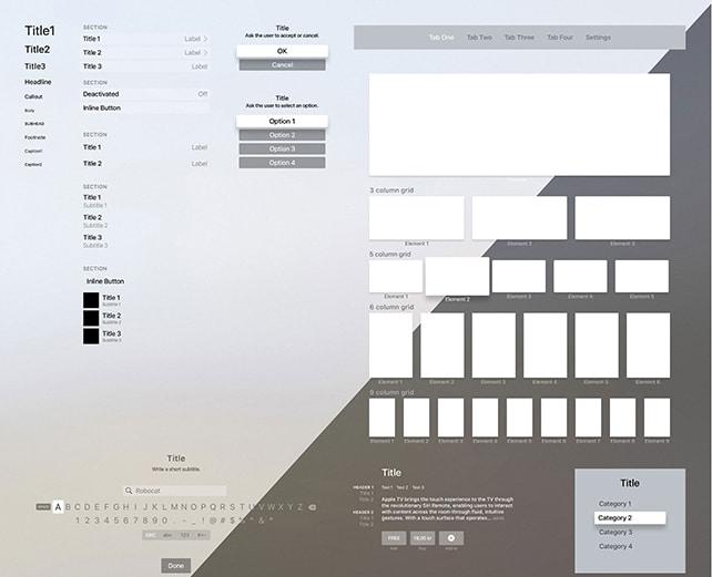 tvOS-UI-template