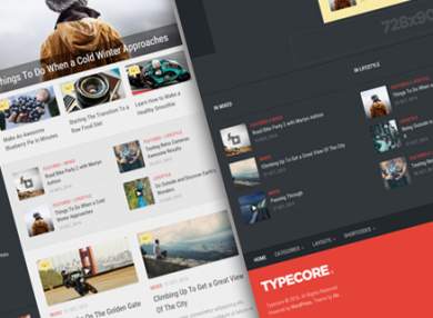 Typecore-magazine-wordpress-theme