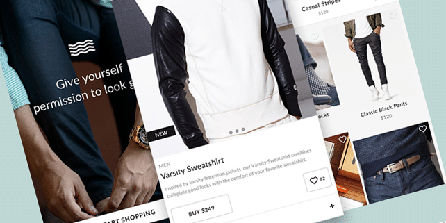 Crisp – mobile eCommerce UI kit