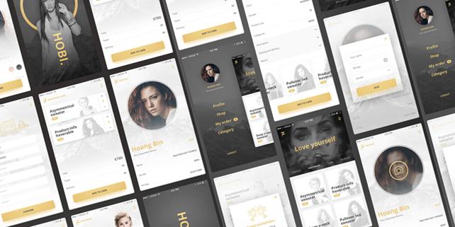 hobi-elegant-mobile-e-commerce-ui-kit