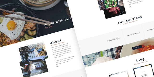 Renome – restaurant PSD template